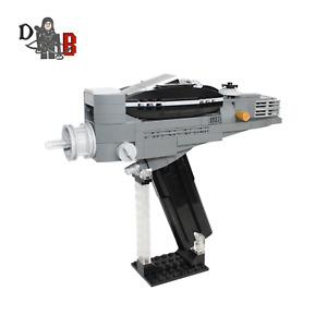Star Trek Custom Star Fleet Type 2 Phaser made using LEGO parts
