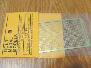 Gold Metal Models #16025 Freight Car & Industrial Ladders (N Scale)