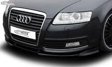RDX Frontspoiler VARIO-X für AUDI A6 4F 2008-2011 ohne S-Line Frontstoßstange