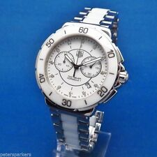 TAG Heuer Ceramic Strap Analog Wristwatches