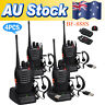 Portable Walkie Talkie UHF 400-470MHz 16CH BF-888S Two-Way Radio 5kilometer QW