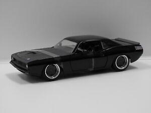 "1:24 Letty's Plymouth Barracuda ""Fast & Furious"" Jada 97195"