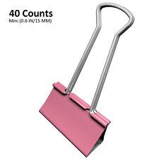 Mini Binder Clips Mix Colored 35 Paper Clamp 06 In Size 40 120 Per A Bag