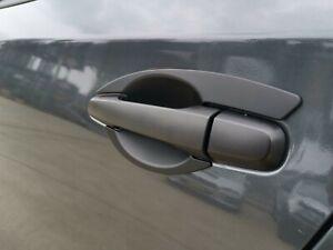 Black Door Handle Bowl Insert Scratch Cover for Mitsubishi Triton MQ MR 2015-20