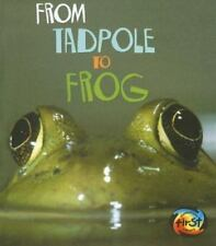 From Tadpole to Frog (How Living Things Grow)-ExLibrary