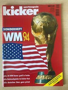 Kicker Sportmagazin Sonderheft WM 1994