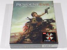 Resident Evil The Final Chapter 3D+2D Blu-ray Steelbook HDzeta OOS/OOP #298/400