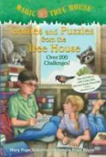2 NEW books- Games and Puzzles from the Tree House-Magic Tree House-challenges
