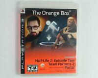 The Orange Box Half Life 2 Sony Playstation 3 PS3 Portal Team Fortress 2