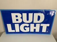2016 Bud Light Beer Large Logo Metal Sign - Bar Mancave Garage Anheuser Busch