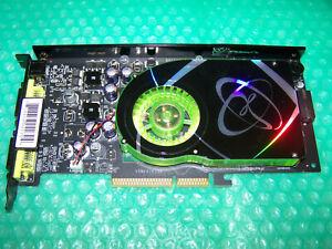 XFX GeForce 6800XT XTreme 256MB 256-Bit DDR3 AGP 8x Dual DVI TV Graphics Card