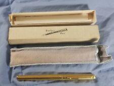 Vintage Gold Toned PARKER FOUNTAIN PEN Cartridge Fill in Original Box