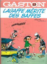 FRANQUIN RARE EO LUXE 6000 EXEMPLAIRES GASTON N° 13 : LAGAFFE MÉRITE DES BAFFES