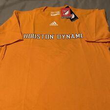 $22 MLS Houston Dynamo Men's Primary One Short Sleeve Tee, M,Orange