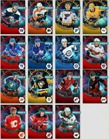 18-19 TARGET LOCKED TEAM COLOR SET OF 15 MURRAY/PATRICK++Topps NHL Skate Digital