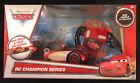 NEW - DISNEY Pixar CARS RC Champion Series Lightning McQueen Remote Control Car