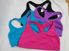 4 Pre-owned Victoria's Secret PINK Pink/Blue/Purple/Black Yoga Braletle S
