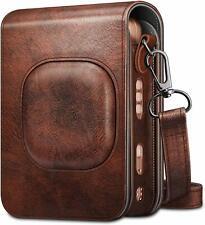 Case for Fujifilm Instax Mini LiPlay Hybrid Instant Camera Leather Bag w/ Strap