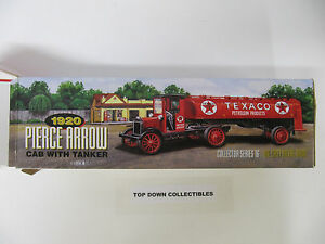 Texaco 1920 Pierce Arrow Cab With Tanker Truck  Collector Series #16 Bank   NEW
