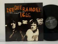 Dee Dee Ramone I.C.L.C. – I Hate Freaks Like You LP 1994 UK Orig Punk Ramones