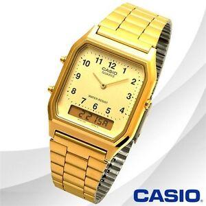 CASIO Men's Watch Multi-Function Dual Time Digital Analog Classic 12 MONTHS WAR