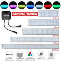 Chihiros 45-120CM RGB Vollspektrum Aquarium Beleuchtung LED Aufsatzleuchte