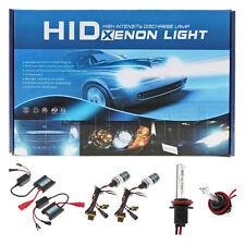 New HID Xenon Headlight Conversion Kit Slim Ballast H11 Low-Hi Beam 3200LM 6000K