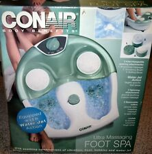 Conair Fb12 Ultra Massaging Foot Spa Feature Rollers Water Jet Vibration Heat