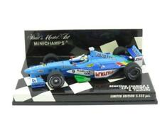 Modellini statici di auto da corsa blu MINICHAMPS benetton