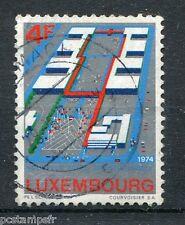 LUXEMBOURG, 1974, timbre 835, FOIRE INTERNATIONALE, oblitéré