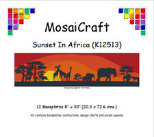MosaiCraft Pixel Craft Mosaic Kit 'Sunset In Africa' Pixelhobby