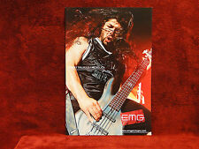 Metallica *Robert Trujillo* EMG Promo Poster<<>>RARE