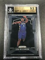 ZION WILLIAMSON 2019 PANINI PRIZM #248 VARIATION ROOKIE RC BGS 9.5 GEM NBA
