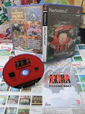 Playstation 2 PS2:Akira Psycho Ball [TOP FLIPPER & 1ERE EDITION] Fr