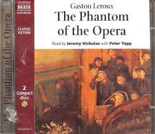 Gaston Leroux Phantom of the Opera audiobook CD NEW