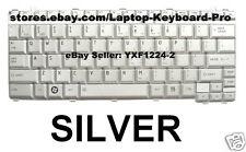Toshiba Portege M800 M805 Keyboard US Silver G83C000A51US NSK-T6V01 9J.N7482.V01