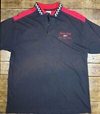 VTG Stone Cold 420 Gas Pro Gas Flat Polo Shirt XL Black Power Boat Racing USA