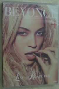 'Beyonce 4 - Live at Roseland'  DVD New Sealed