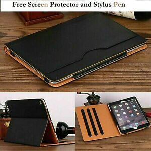 For Apple iPad 10.2 2019.Luxury Magnetic Leather Flip Case Cover 7th Generation