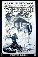 Arthur Suydam The Art of The Barbarian Limited Edition Poster Book New 2005