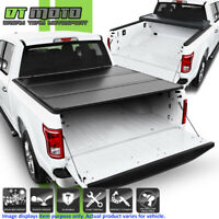 Hard Tri-Fold Tonneau Cover For 2015-2019 Ford F150 Pickup Truck 5.5FT Short Bed