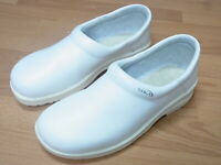 SIKA Footwear 19416 Clog Fusion Arbeitsschuhe Leder Weiß o. Schutkappe Gr.43 in6