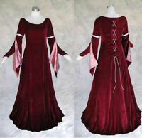 Medieval Renaissance Gown Dress SCA Costume Wedding 4X