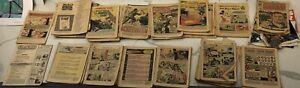 48 BOOK COVERLESS SILVER AGE LOT - Superman, Batman,Flash, Aquaman, GI and more!