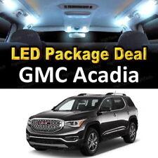 For 2010 2011 2012 GMC Acadia LED Lights Interior Package Kit WHITE 13PCS
