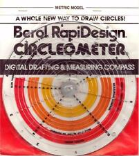 Berol Rapidesign Circleometer - Drafting Measuring Compass - Metric - RC-4
