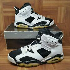 c11db204dbb Nike Air Jordan 6 VI (Men's Size 8.5) Retro Basketball Sneaker Shoes Black  White