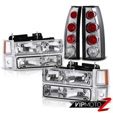 1994-1998 Chevy C10 C/K 1500 2500 3500 10PC Combo Deal Headlight+Brake Lamps