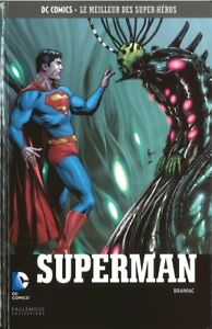 DC COMICS - SUPERMAN, BRAINIAC > SUPER HEROS VOLUME 44 / EAGLEMOSS, NEUF