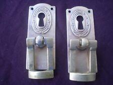 2 Antique bronze brass handle Furniture